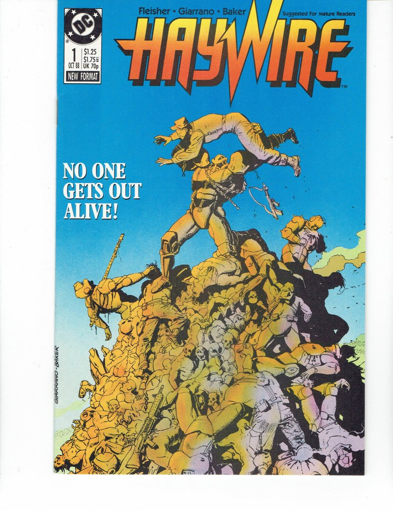 Image 0 of Haywire #1 No One Gets Out Alive! October 1988 DC Comics