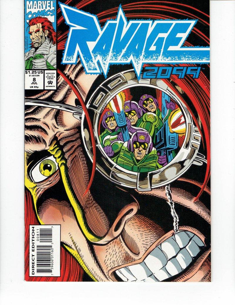 Image 0 of Ravage 2099 #8 - July 93 Marvel Comics