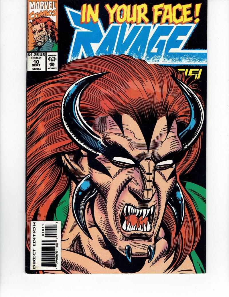 Image 0 of Ravage 2099 #10 - September 93 Marvel Comic