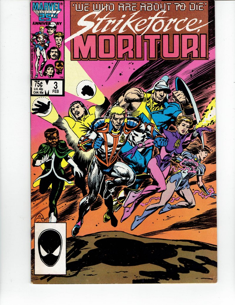 Image 0 of Strikeforce Morituri #9 Feb 1987 Marvel Comic