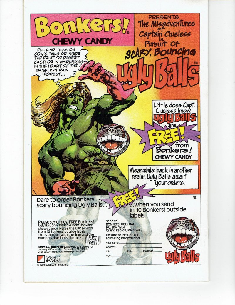 Image 1 of Spitfire And the Troubleshooters #8 May 1987 Marvel Comic