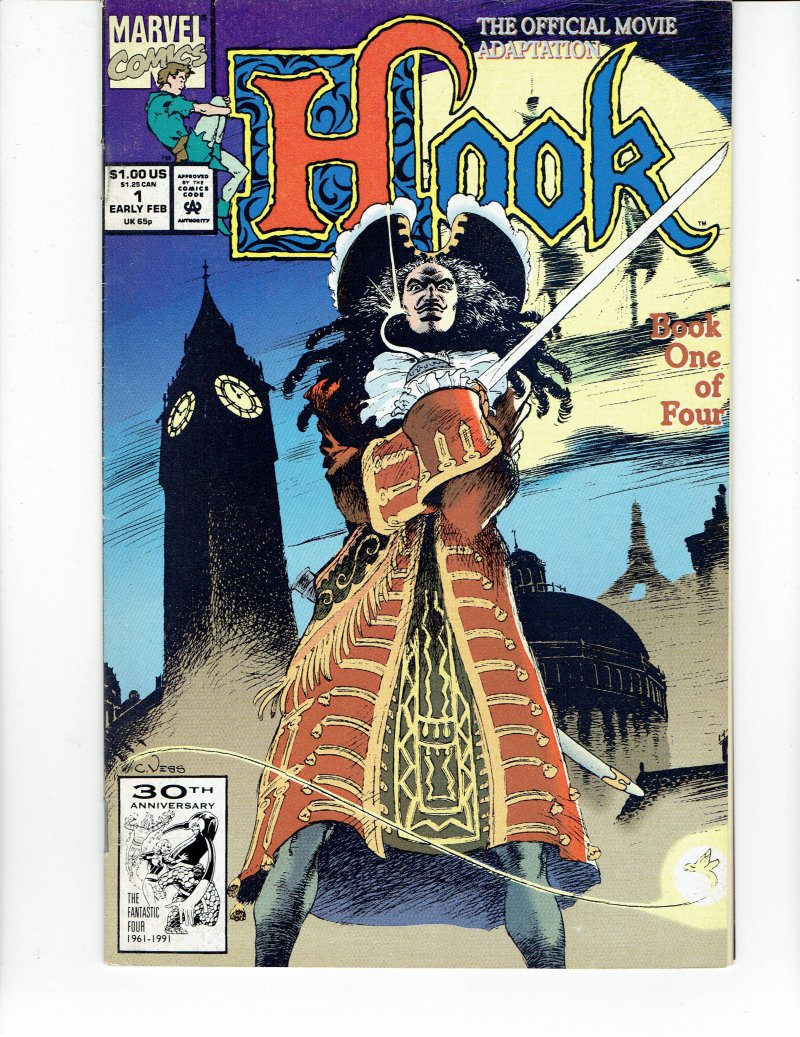 Image 0 of Hook #1 May 1992 Marvel Comic