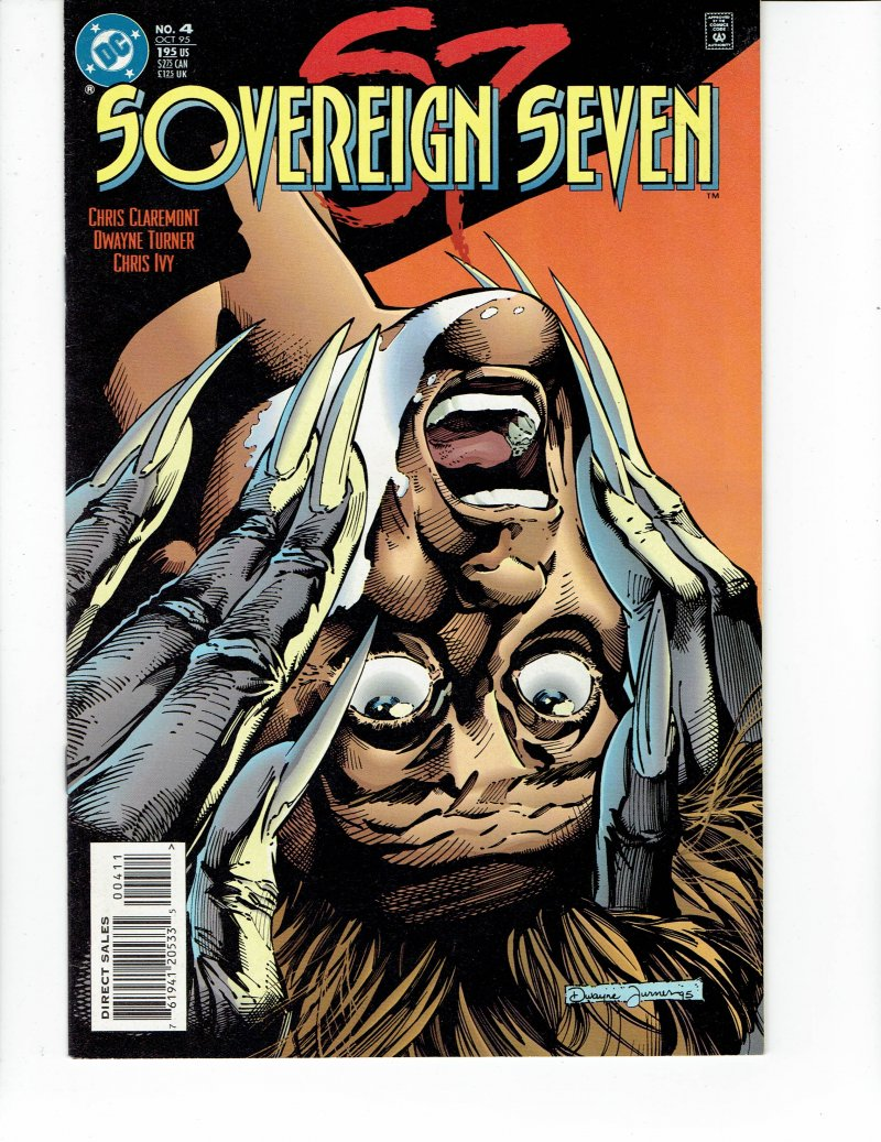 Image 0 of Sovereign Seven #4 Oct 1995 DC Comic