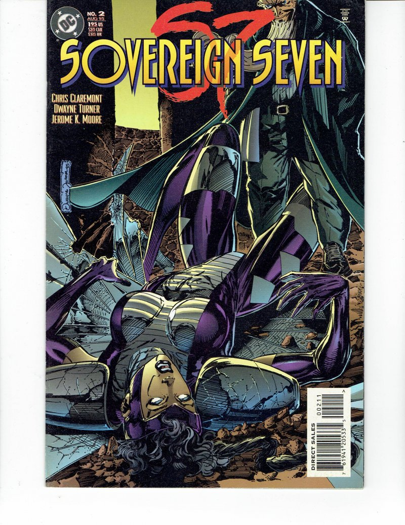 Image 0 of Sovereign Seven #2 Aug 1995 DC Comic