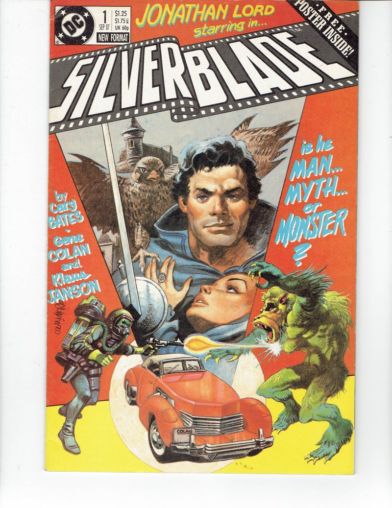 Image 0 of Silverblade #1 Sept 1987 DC Comics