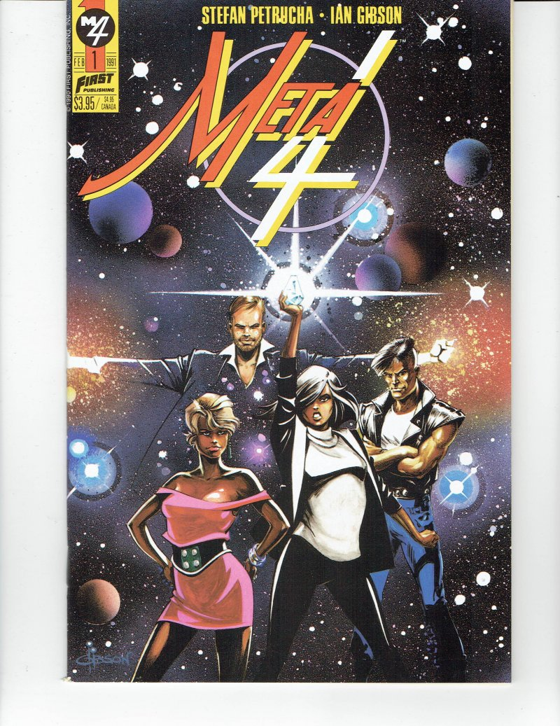 Image 0 of Meta 4 #1 Feb 1991 First Comics