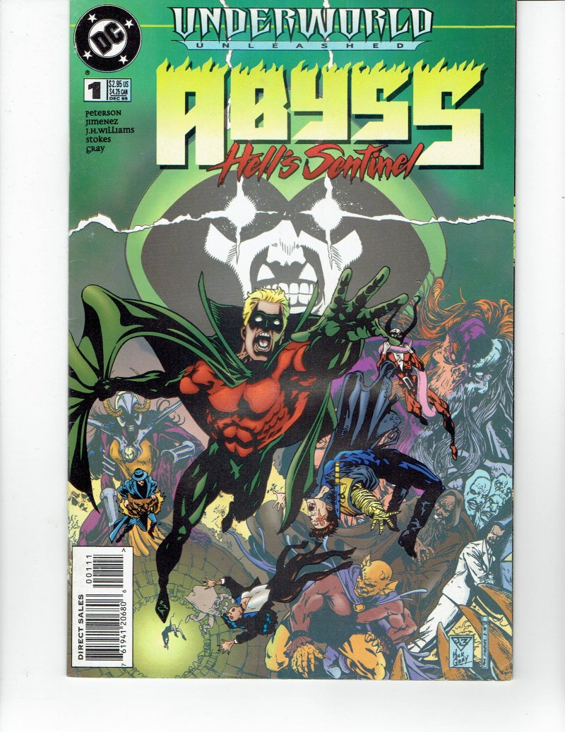 Image 0 of Underworld Unleashed Abyss Hell's Sentinel #1 Dec 1995 DC Comics