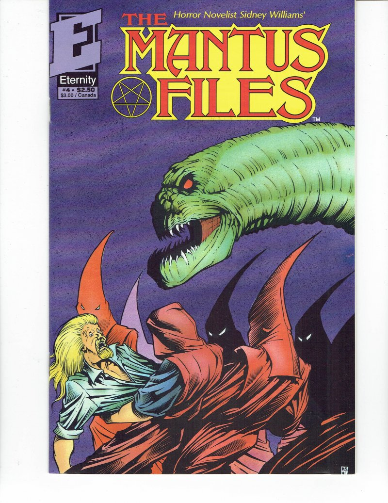 Image 0 of Mantus Files #1 1991 Eternity Comics