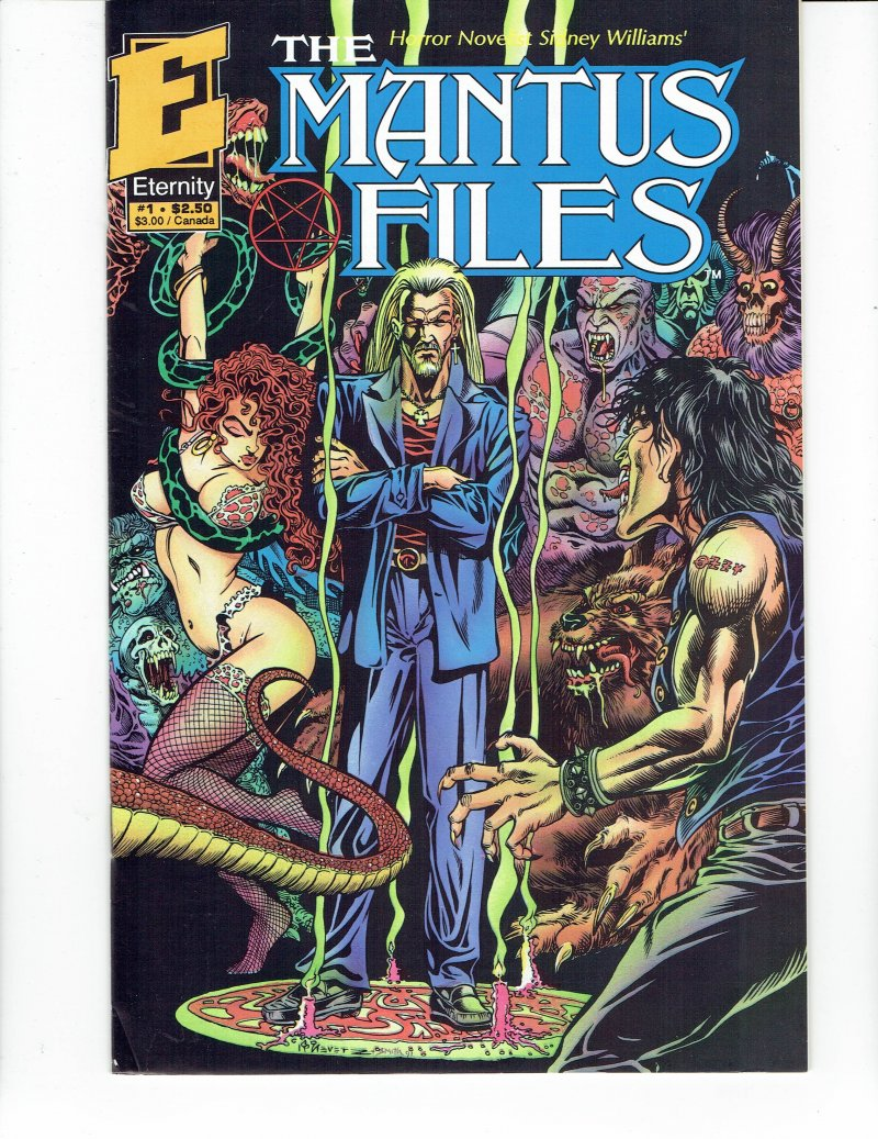 Image 0 of Mantus Files #4 1991 Eternity Comics