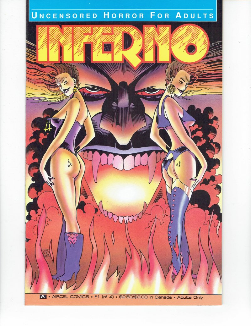 Image 0 of Inferno #1 Oct 1990 Aircel Comics