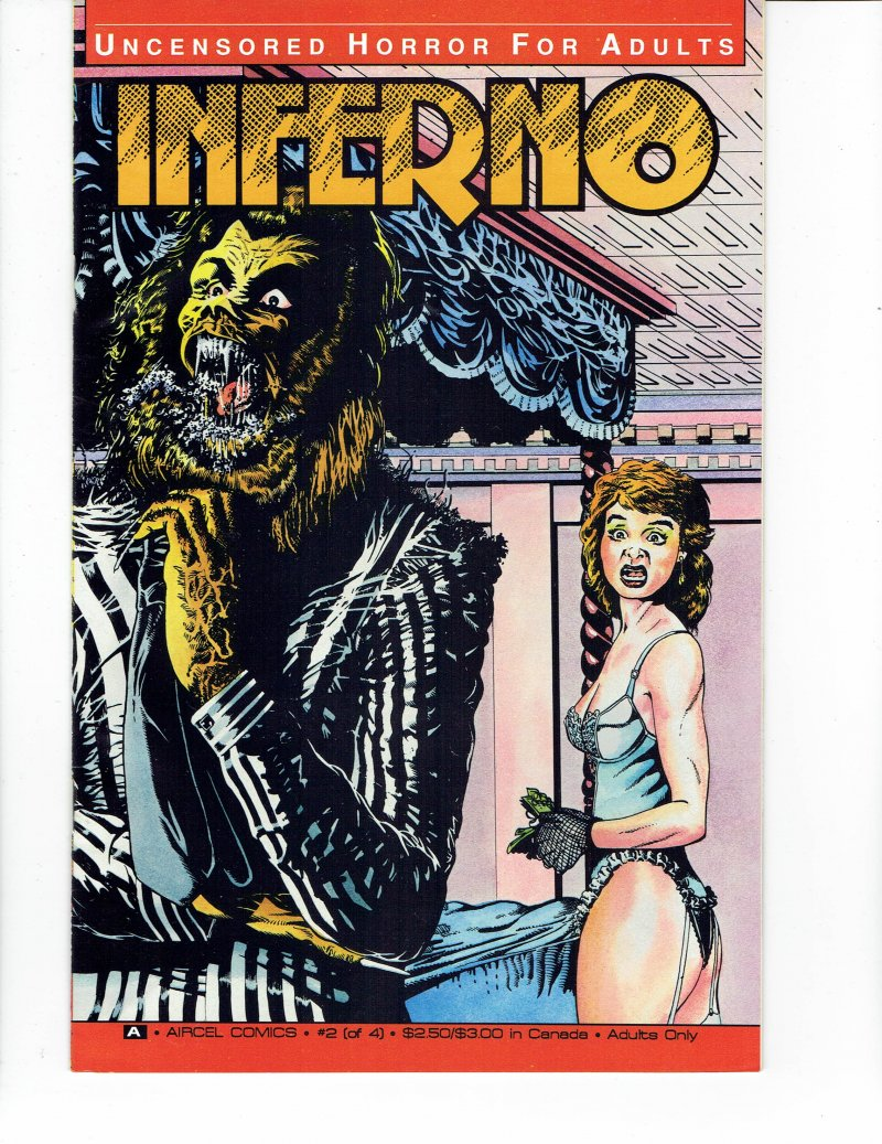 Image 0 of Inferno #2 Nov 1990 Aircel Comics