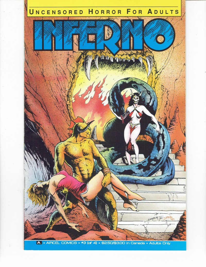 Image 0 of Inferno #3 Dec 1990 Aircel Comics