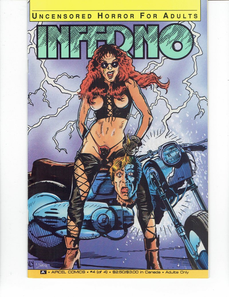 Image 0 of Inferno #4 Jan 1991 Aircel Comics