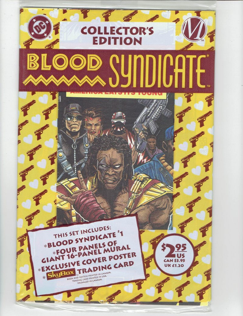 Image 0 of  Blood Syndicate #1 April 1993 DC Comics Collectors Edition