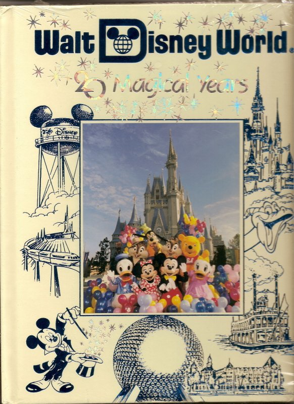 Image 0 of 1991 Walt Disney World Pictorial Sovuiner Hardback book OOP