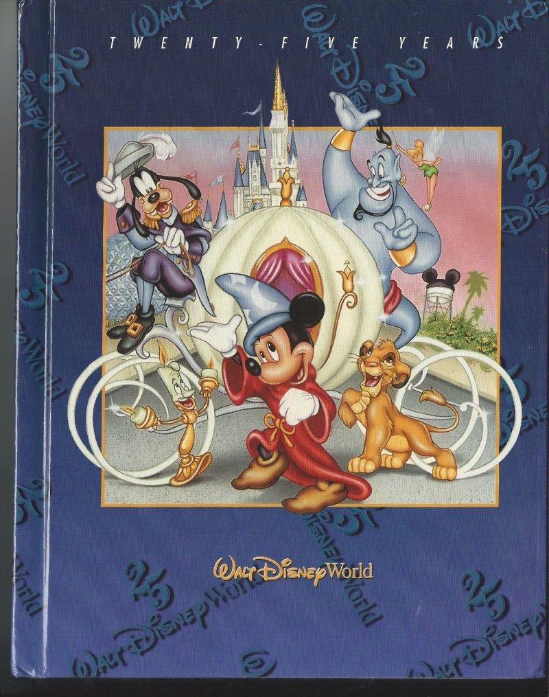 Image 0 of 1996 Walt Disney World Pictorial Sovuiner Hardback book OOP