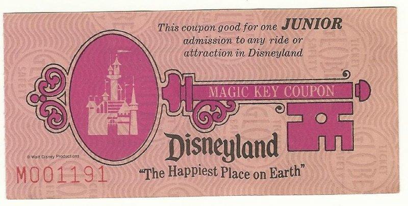 Image 0 of Disneyland Magic Key Coupon
