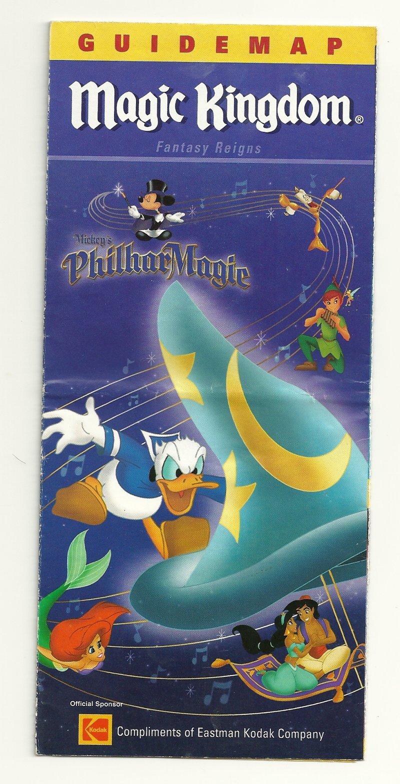 Image 0 of 2002 walt disney world Magic Kingdom Guide Map