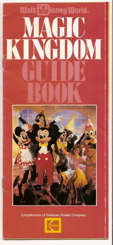 Image 0 of 1988 walt disney world Magic Kingdom Guide book