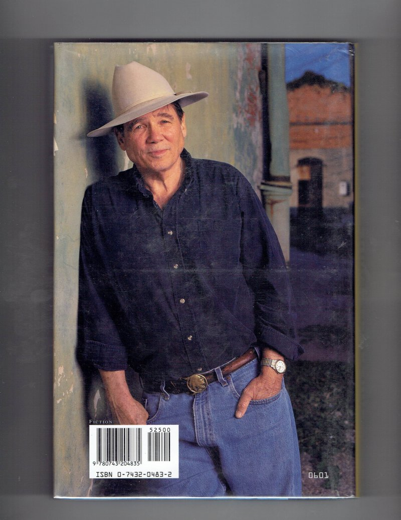 Image 2 of Billy Bob Holland Bitterroot by James Lee Burke (2001, Hardcover) Signed