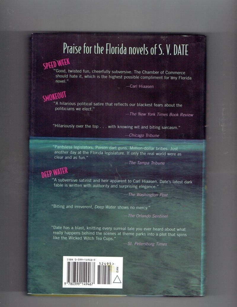 Image 2 of Black Sunshine by S. V. Date (2002, Hardcover) Signed Book