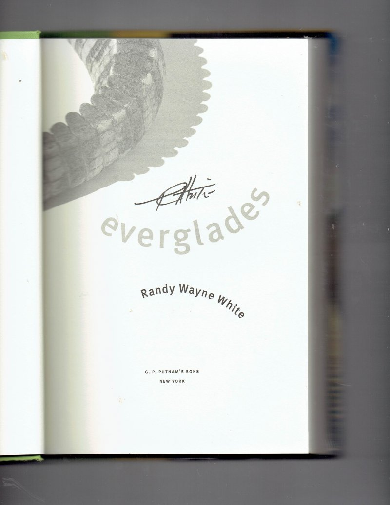 Image 0 of Doc Ford Everglades No. 10 by Randy White (2003, Hardcover) Signed Book