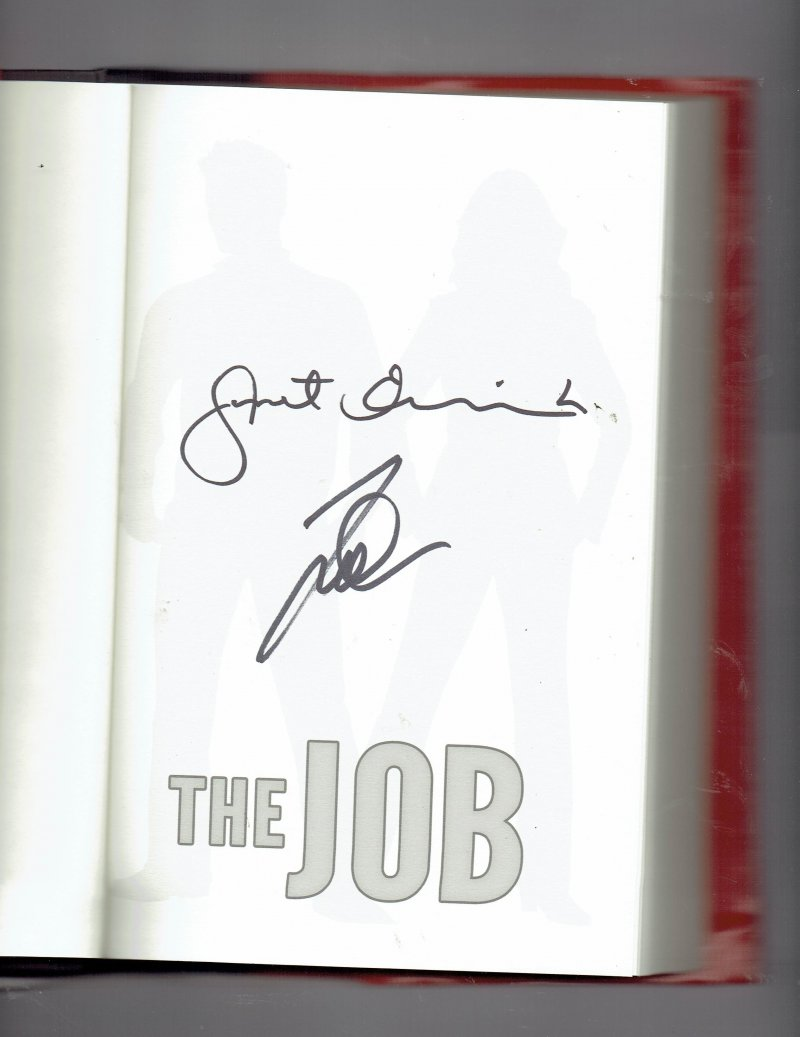 Image 0 of Fox and O'Hare The Job by Lee Goldberg and Janet Evanovich Signed Autographed