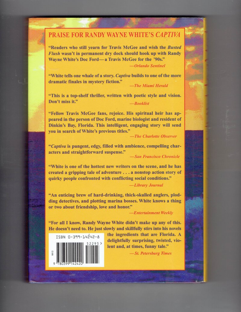 Image 3 of North of Havana by Randy White (1997, Hardcover) Signed Autographed book