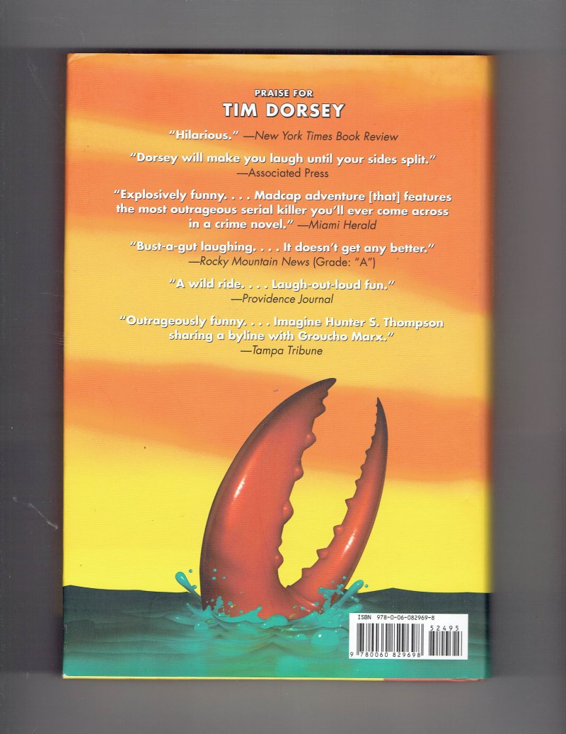 Image 2 of Serge Storms Atomic Lobster Bk. 10 by Tim Dorsey (2008, Hardcover) Signed