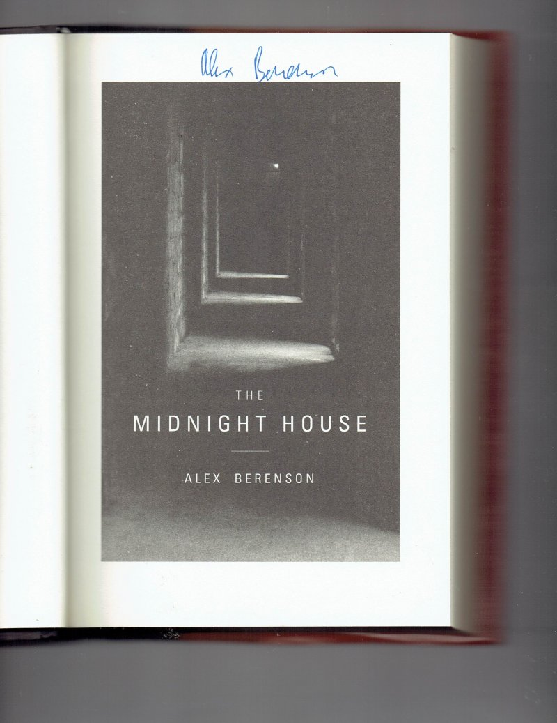 Image 0 of The John Wells The Midnight House Bk. 4 by Alex Berenson Signed Autographed book