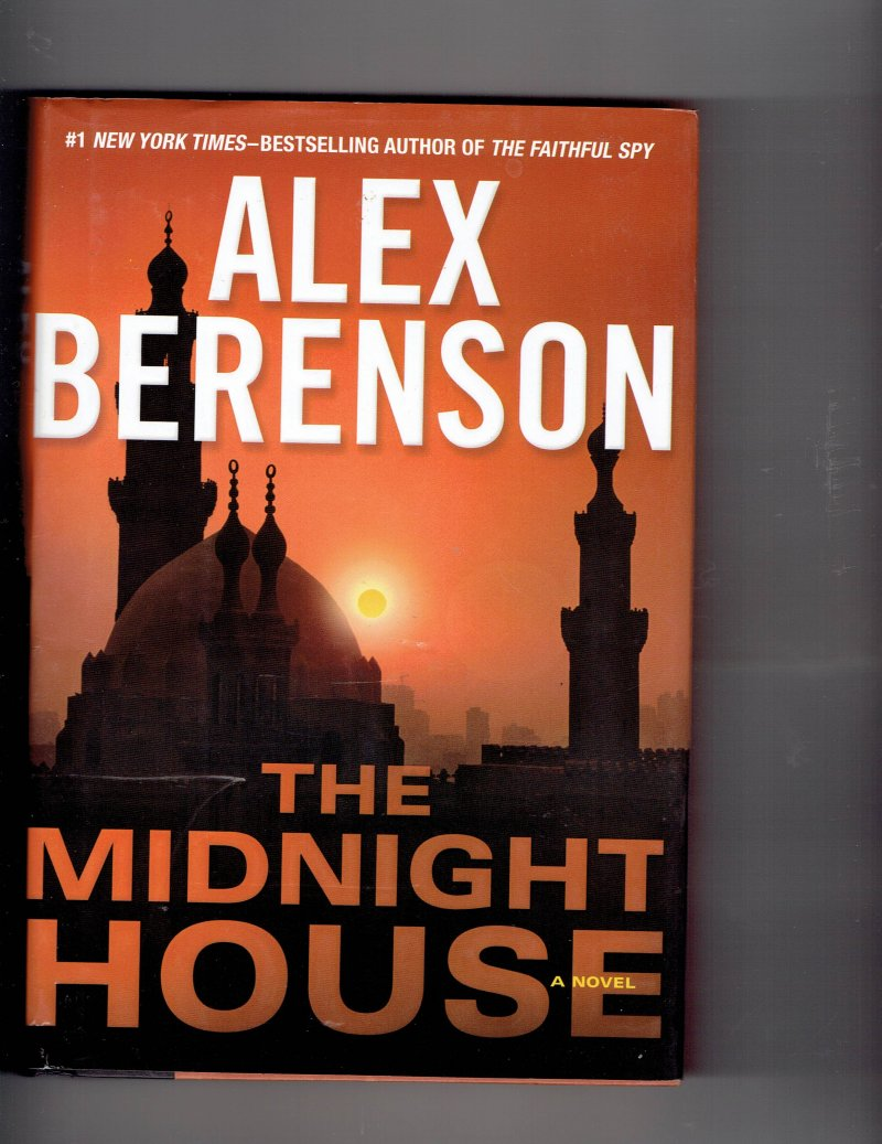 Image 1 of The John Wells The Midnight House Bk. 4 by Alex Berenson Signed Autographed book