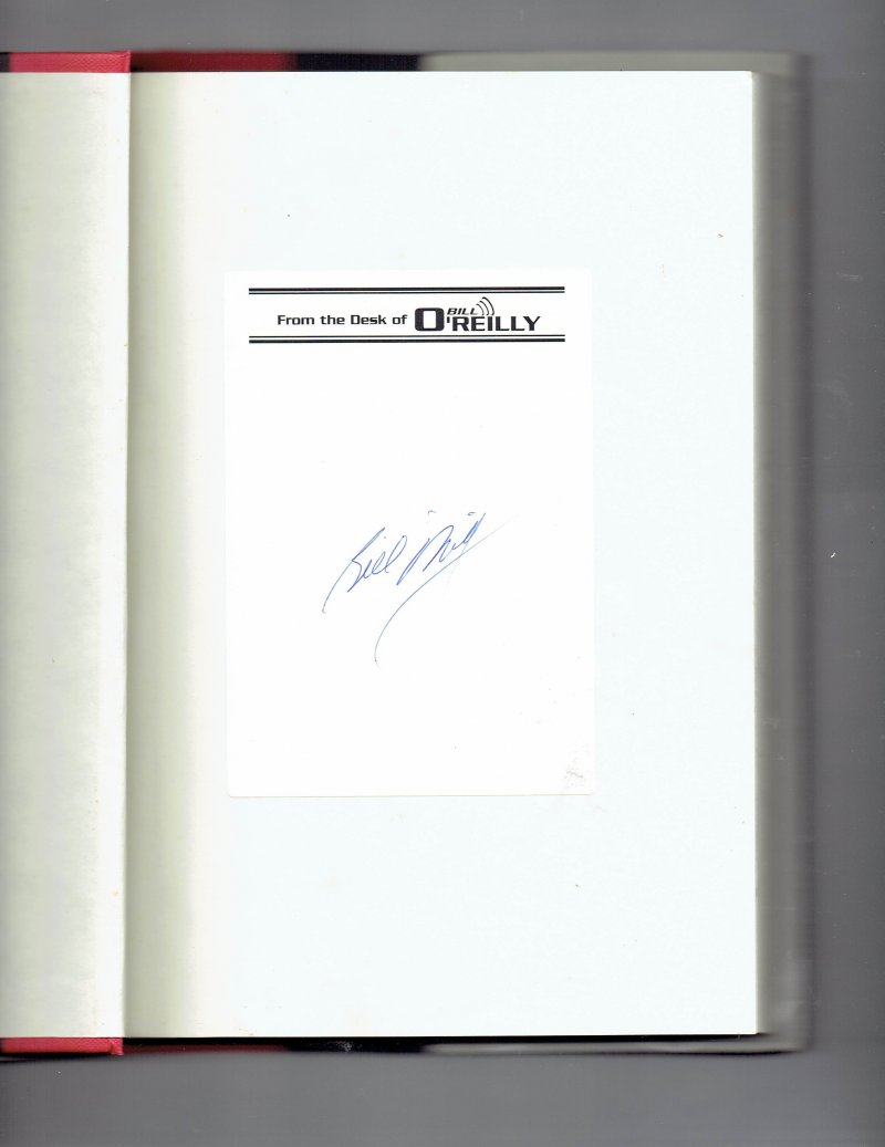 Image 0 of A Bold Fresh Piece of Humanity by Bill O'Reilly (2008, Hardcover) Signed Book