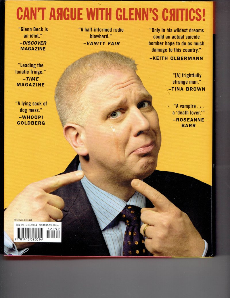 Image 2 of Arguing with Idiots by Glenn Beck Signed Autographed HC Book Political