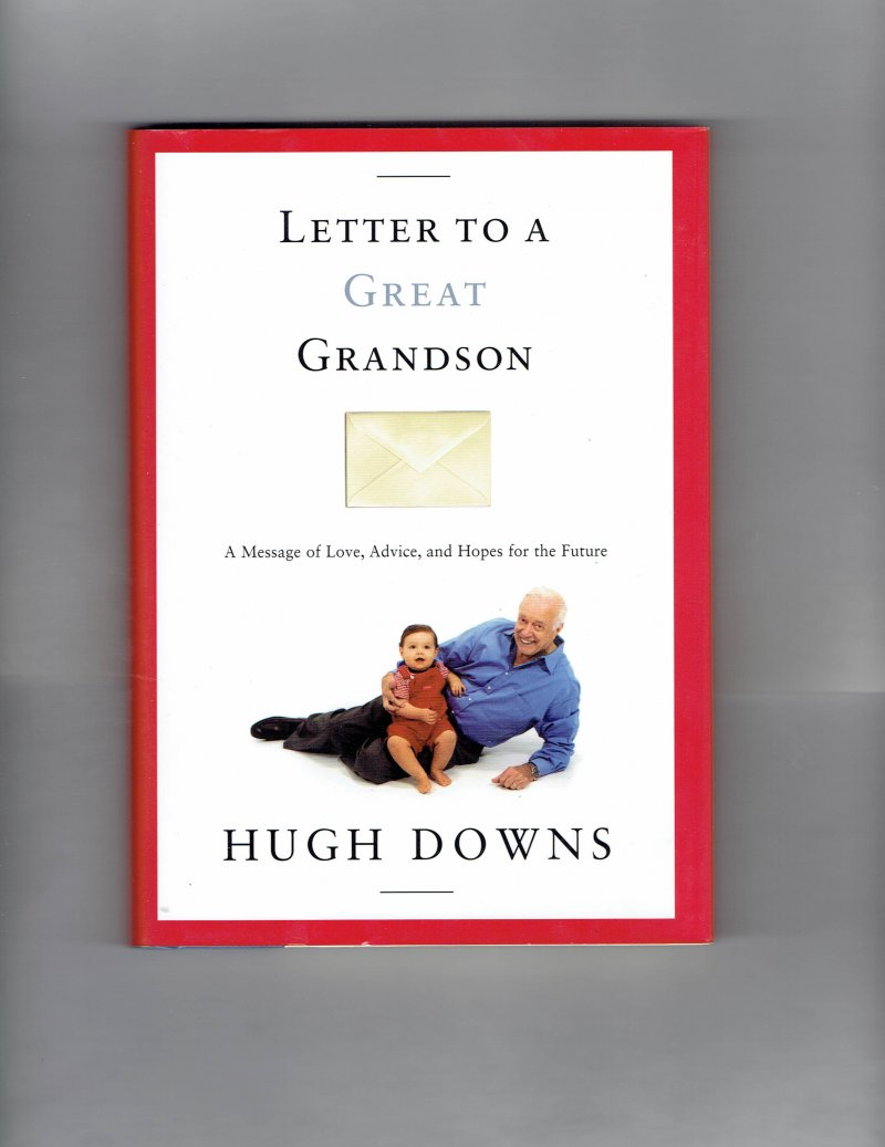 Image 2 of Great Grandson by Hugh Down Signed Autographed Book