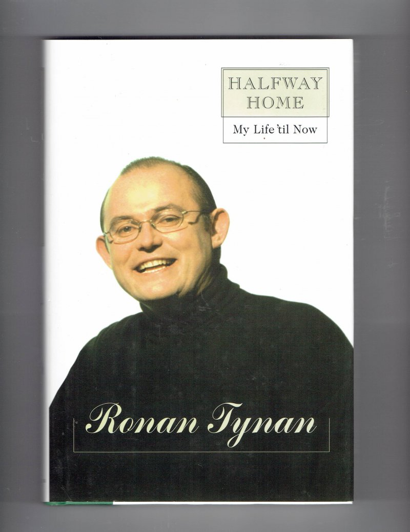 Image 2 of Halfway Home by Ronan Tynan Hardcover Signed Autographed Irish Tenor