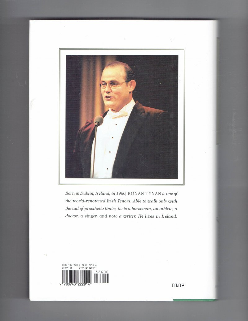 Image 3 of Halfway Home by Ronan Tynan Hardcover Signed Autographed Irish Tenor