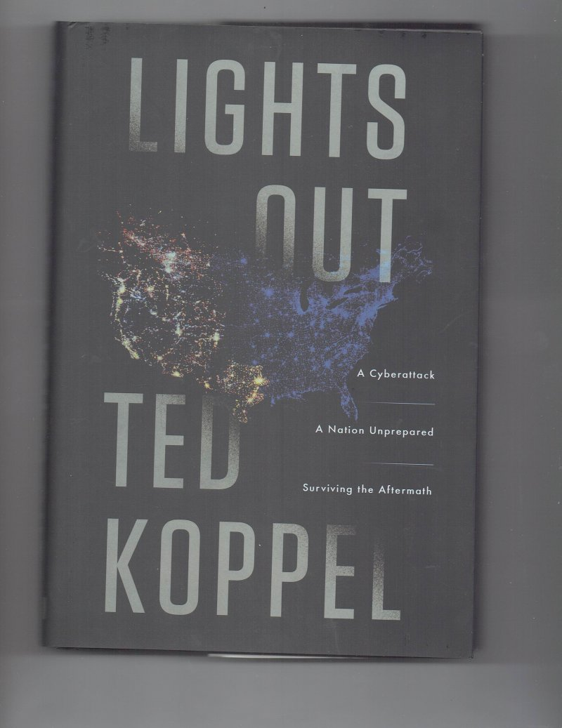 Image 1 of Lights Out by Ted Koppel signed autographed book