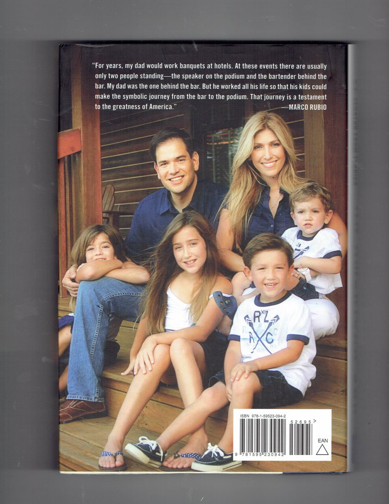 Image 2 of An American Son by Marco Rubio (2012, Hardcover) Signed Autographed Senator