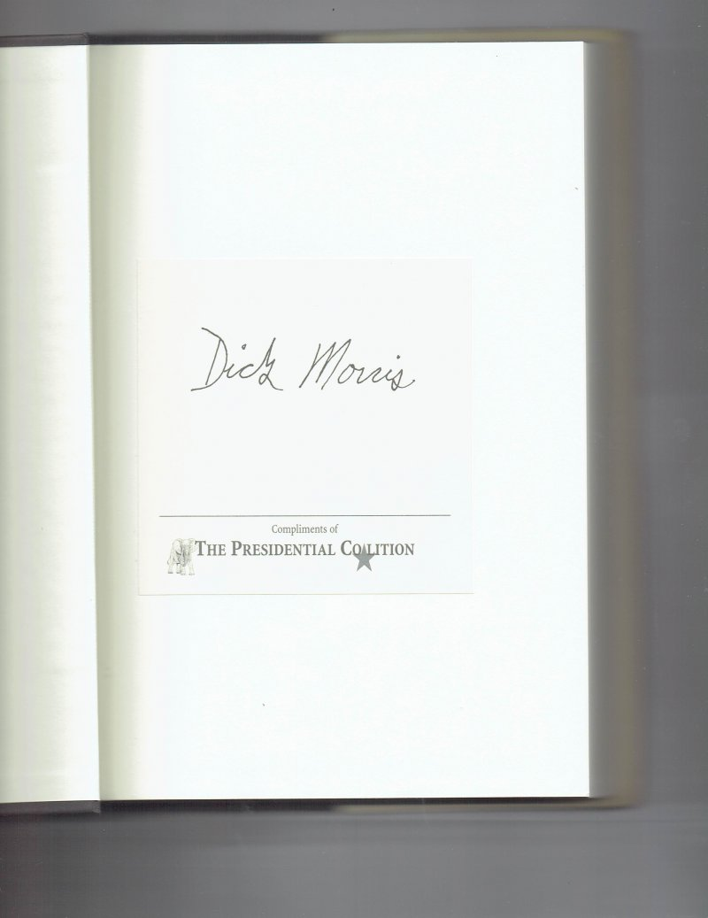 Image 0 of Condi vs. Hillary The Next Great Presidential Race by Dick Morris Signed Book