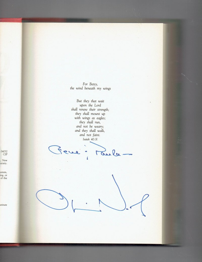 Image 0 of One More Mission  Oliver North Returns to Vietnam by Oliver North Signed HC