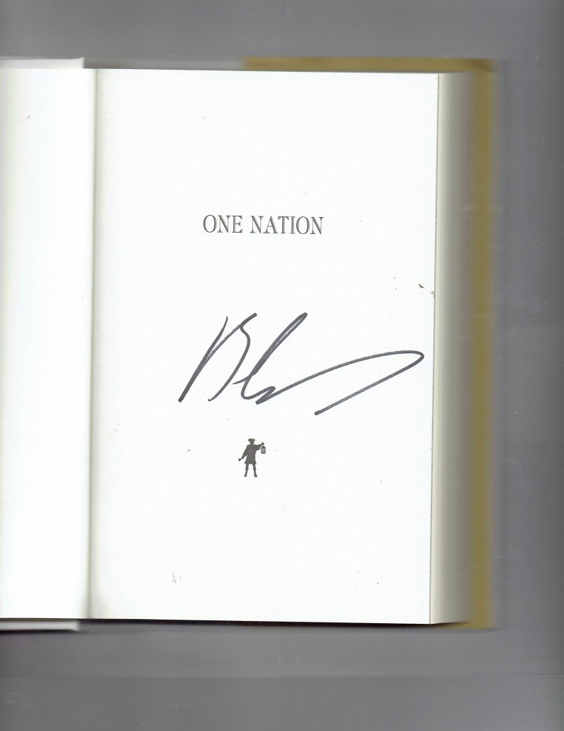 Image 0 of One Nation  What We Can All Do to Save America's Future by Ben Carson Signed