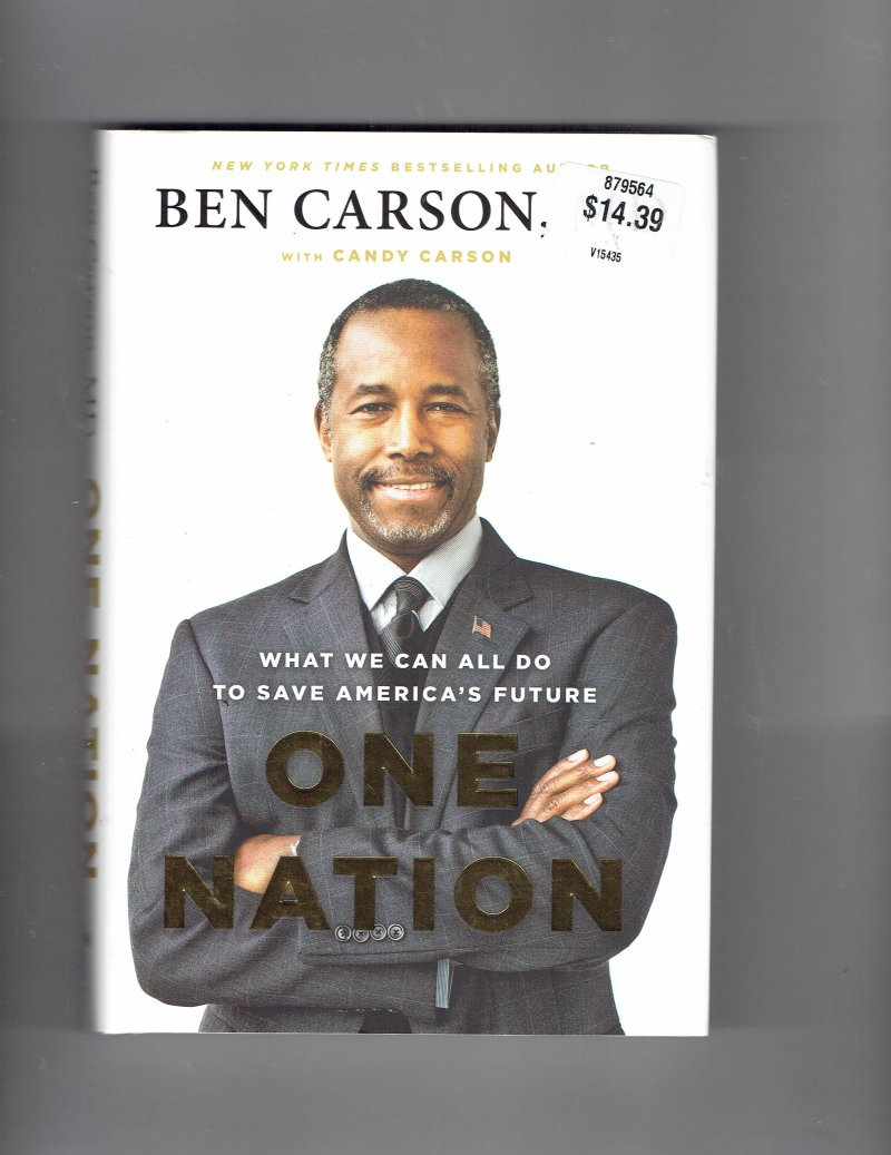 Image 1 of One Nation  What We Can All Do to Save America's Future by Ben Carson Signed