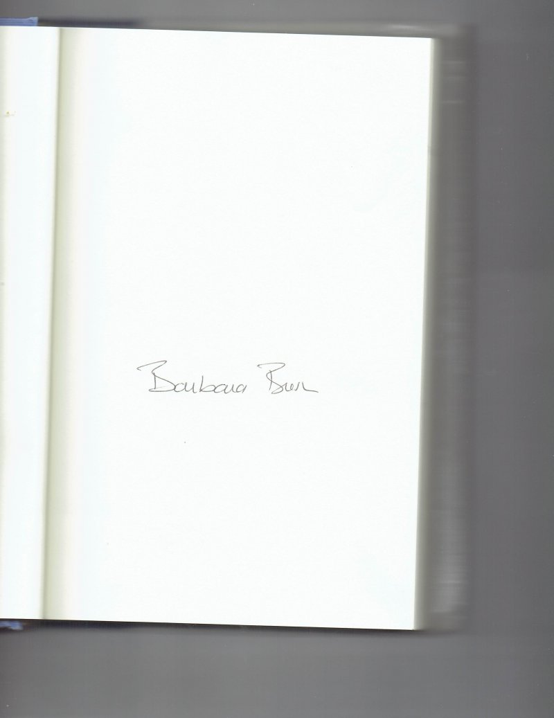 Image 0 of Reflections Life after the White House by Barbara Bush (2003, Hardcover) Signed