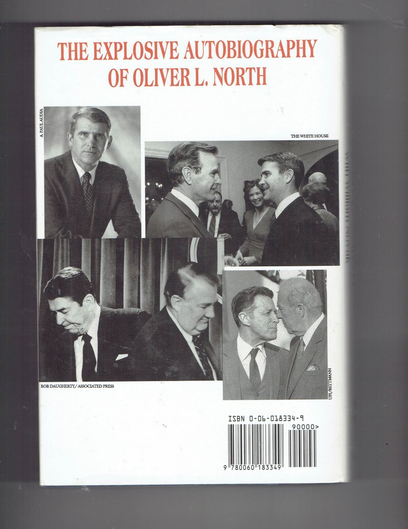 Image 2 of Under Fire  An American Story by Oliver North Signed Autographed HC Book