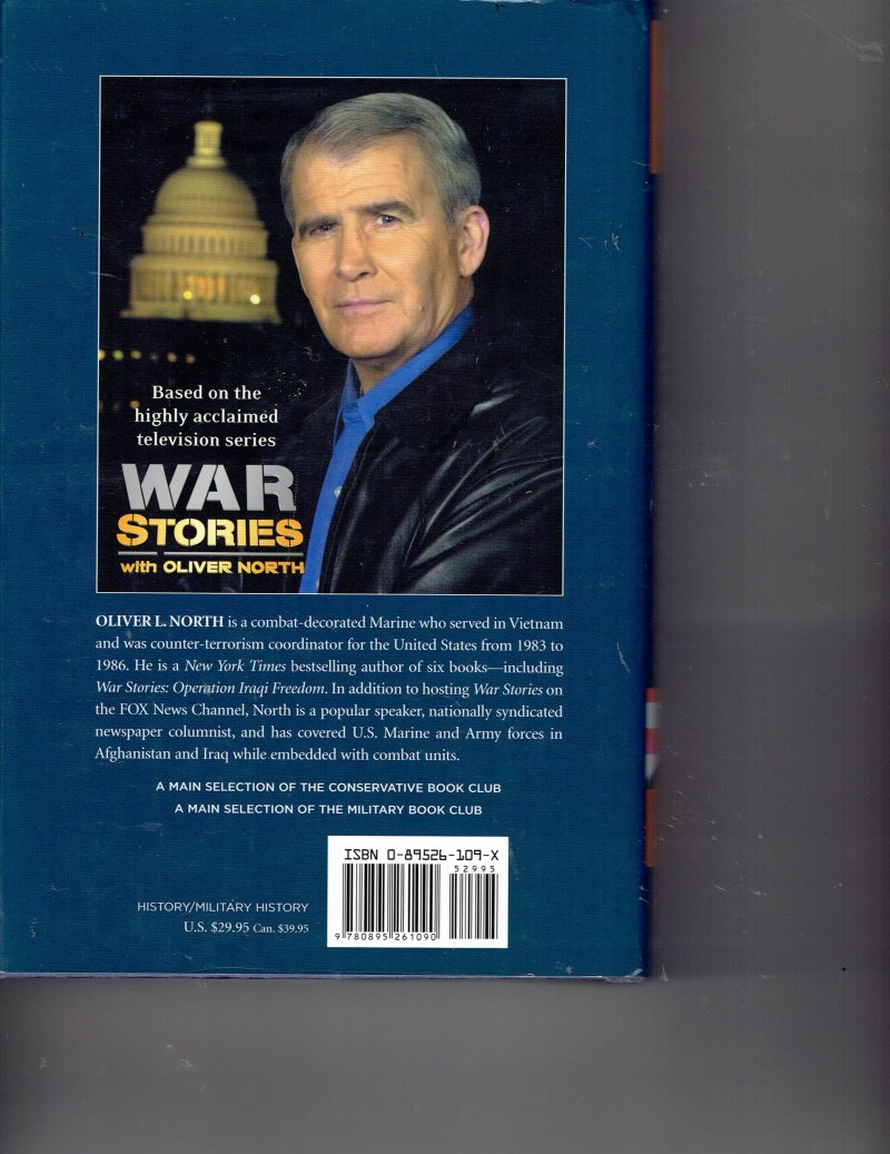 Image 2 of War Stories II  Heroism in the Pacific by Oliver North (2004, Hardcover) Signed