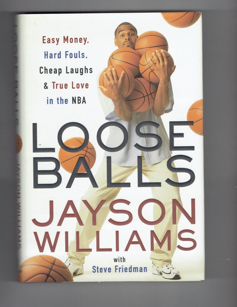 Image 1 of Loose Balls by Jayson Williams Signed autographed Book