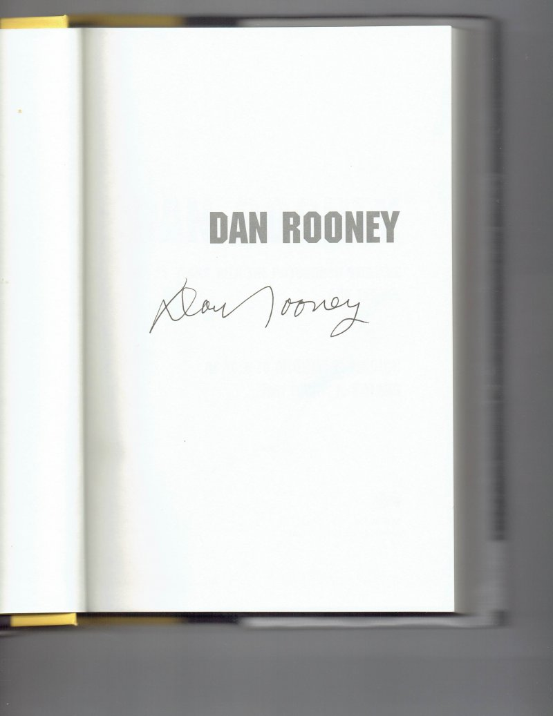 Image 0 of Dan Rooney My 75 Years with the Pittsburgh Steelers & the NFL Signed Hall Of Fam