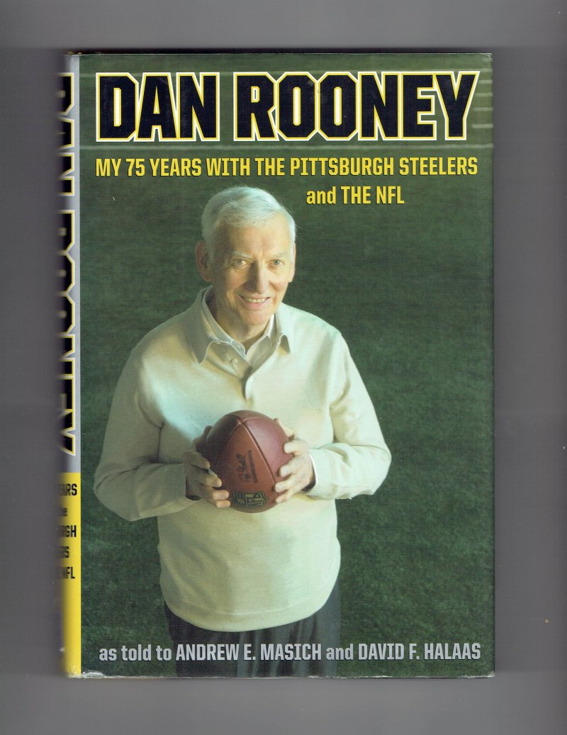 Image 1 of Dan Rooney My 75 Years with the Pittsburgh Steelers & the NFL Signed Hall Of Fam