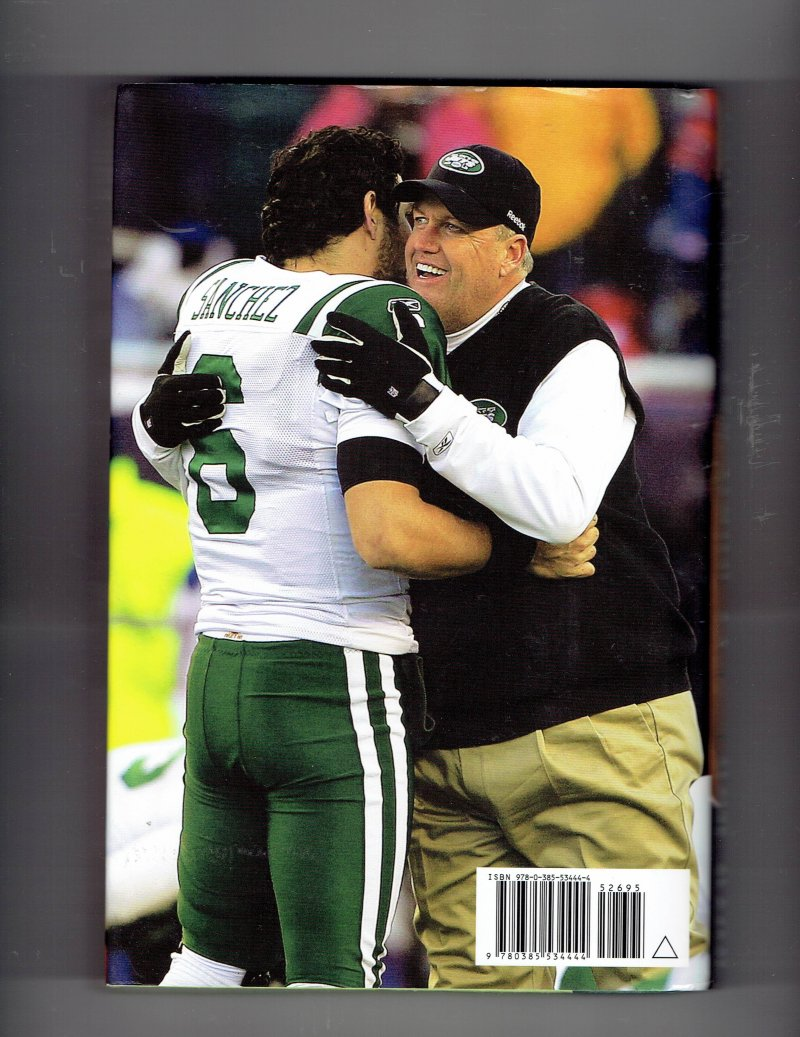 Image 2 of Play Like You Mean It By Rex Ryan Jets Signed Autographed hardcover Book