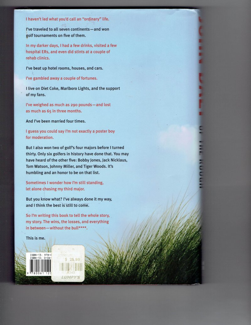 Image 2 of My Life in and Out of the Rough by John Daly Signed Autogrpahed book